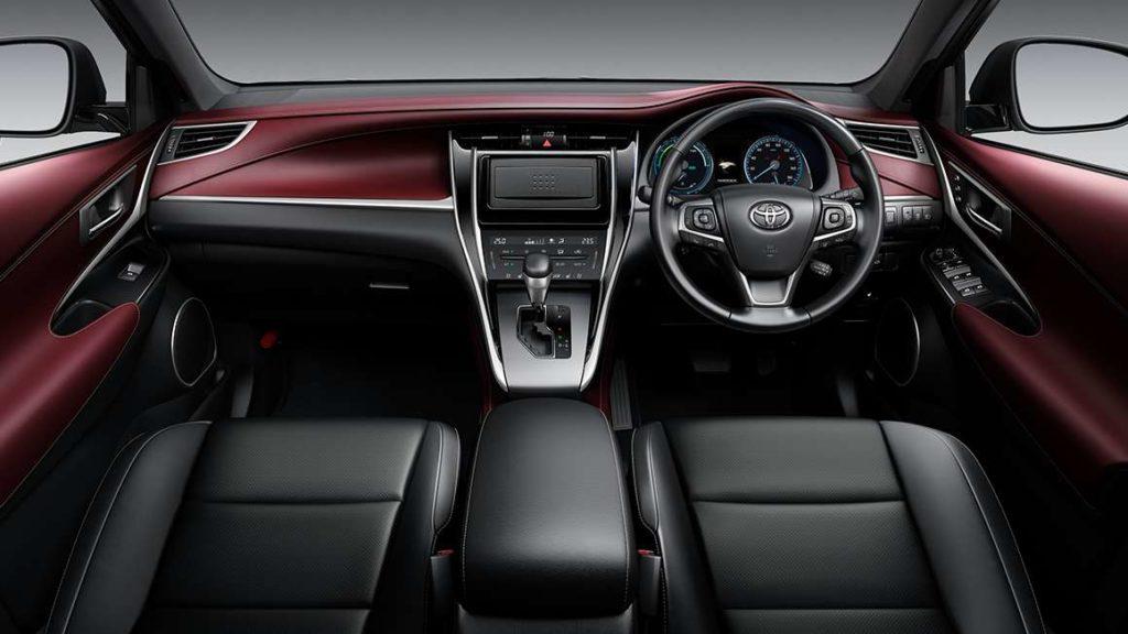 Mark X Car Interior